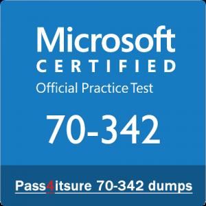 microsoft 70-342 dumps